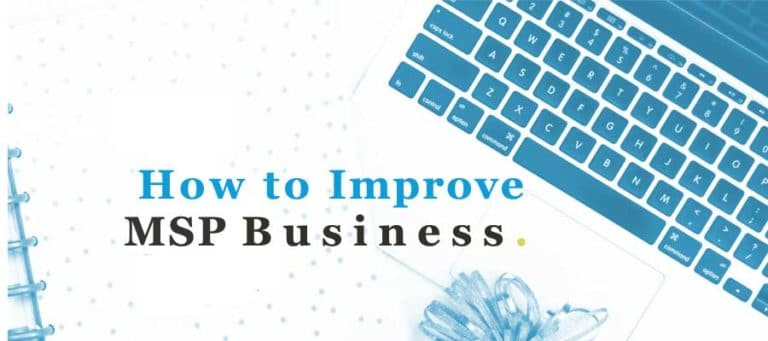improve msp business